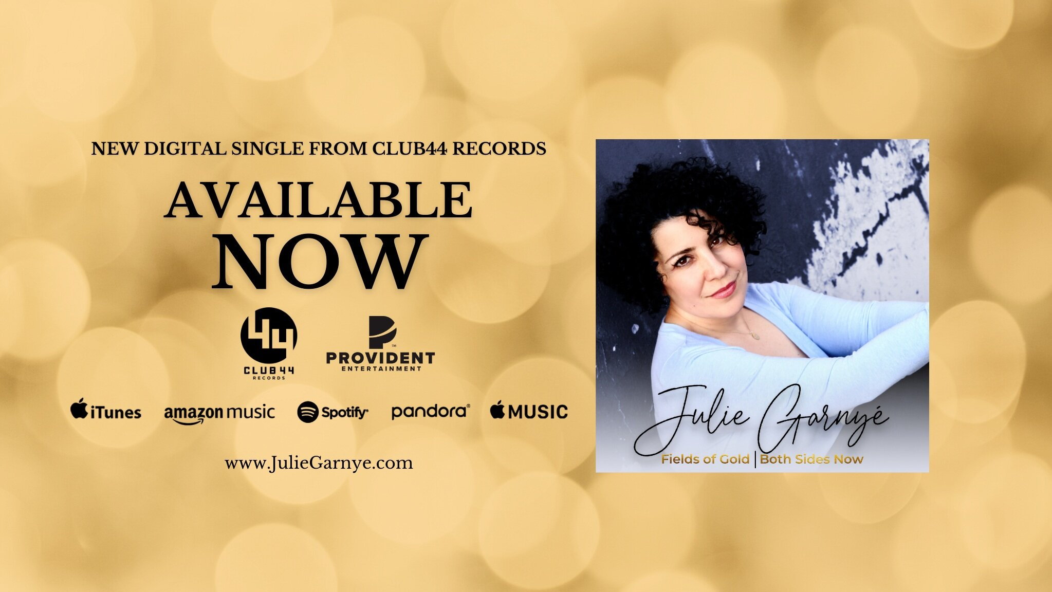 IT'S HERE!!!  FIELDS OF GOLD | BOTH SIDES NOW can be purchased or streamed anywhere you find music! CLICK THE IMAGE TO TAKE YOU RIGHT TO THE SONG